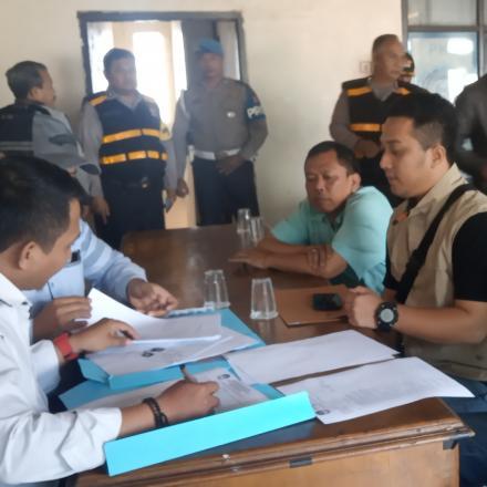 Pendaftaran Bakal Calon Kepala Desa Sayati